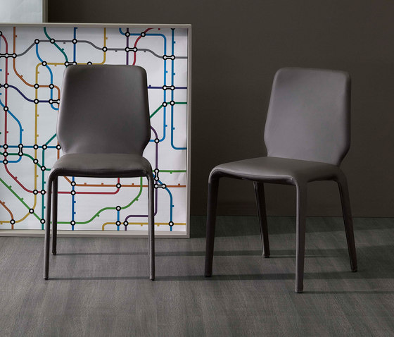Junan by Bonaldo | Restaurant chairs
