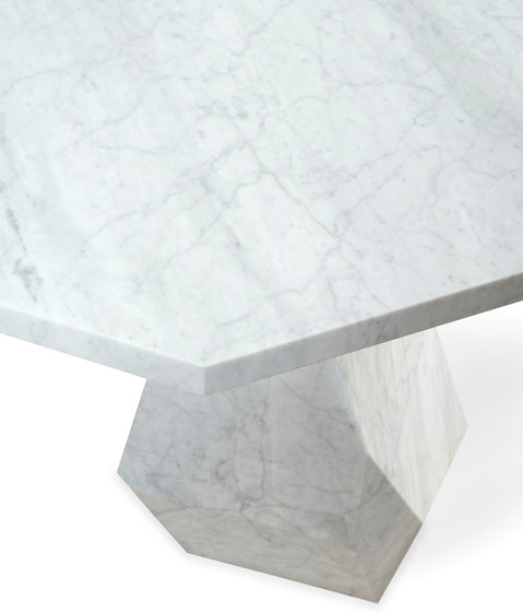 Rock | 90 Dining Table by GINGER&JAGGER | Dining tables