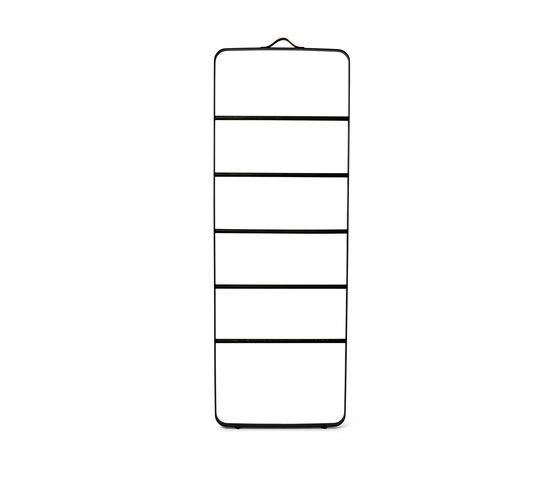 Towel Ladder   Black/Dark Ash by MENU   Towel rails