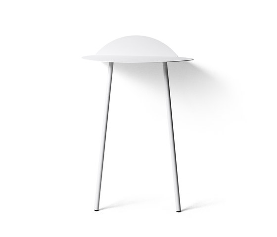 Yeh Wall Table, Tall, White by MENU | Console tables