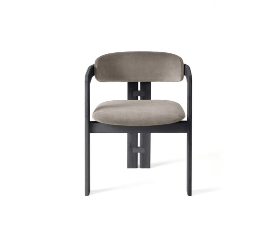 0414 by Gallotti&Radice | Visitors chairs / Side chairs