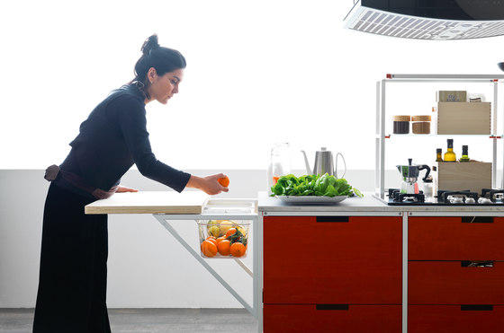 Meccanica | Wood by Valcucine | Fitted kitchens