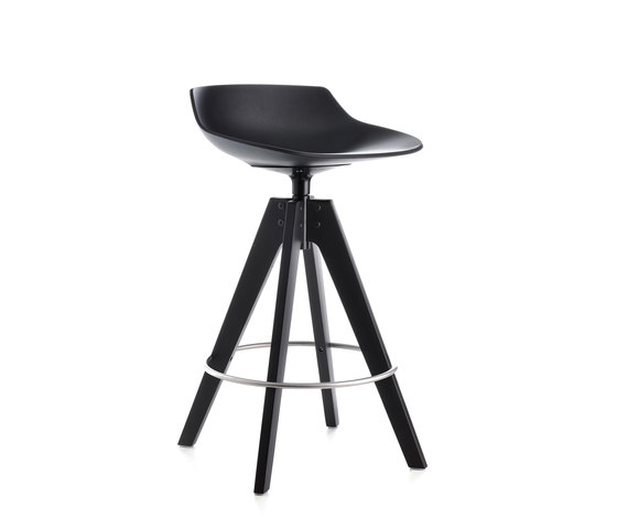 Flow stool by MDF Italia | Bar stools
