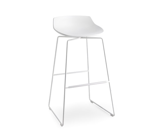 Flow stool by MDF Italia | Bar stools