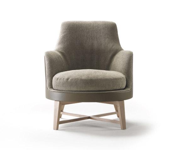 Guscio Soft Armchair de Flexform | Sillones lounge