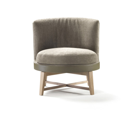 Feel Good Soft Armchair by Flexform | Lounge chairs