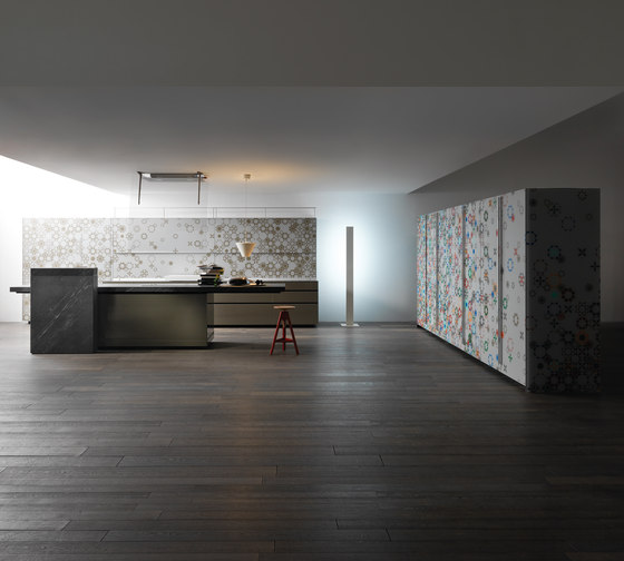 New Logica System | Artematica Vitrum by Valcucine | Fitted kitchens