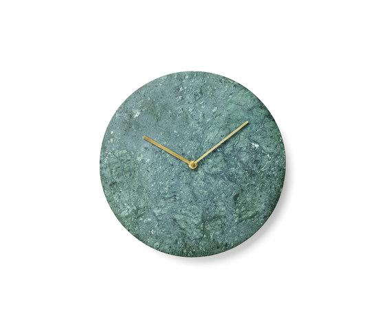 Marble Wall Clock by MENU   Clocks