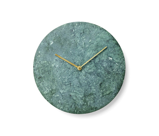 Marble Wall Clock, Green by MENU | Clocks