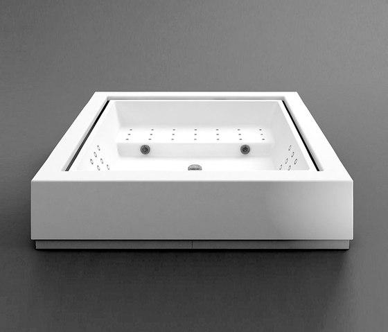 Quadrat free standing minipool by Kos | Hydromassage baths