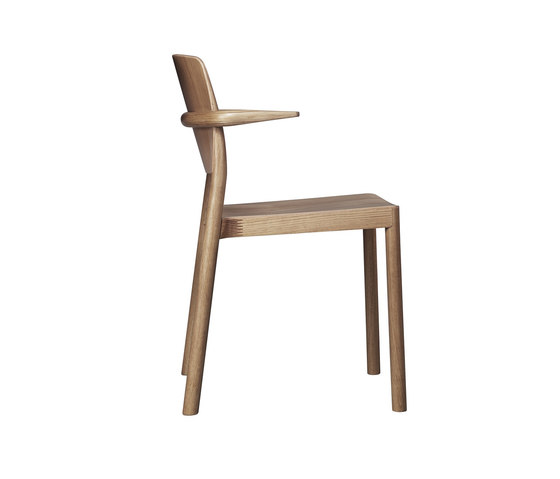 Grace armchair by Swedese | Restaurant chairs
