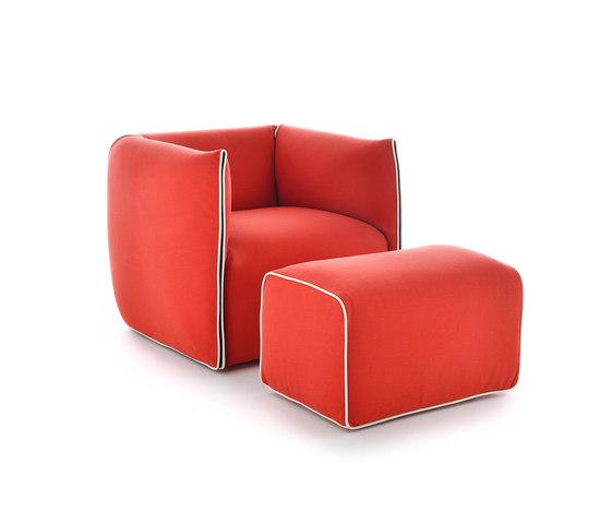 Mia by MDF Italia | Lounge chairs
