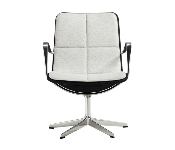 Kite by Swedese high back conference chair low