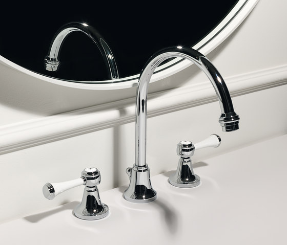 Agora 3 hole basin mixer by Zucchetti | Wash-basin taps