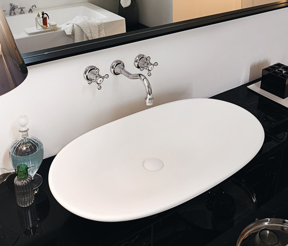 Agora 3 hole built-in basin mixer by Zucchetti | Wash-basin taps