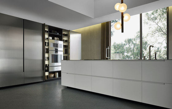 Phoenix by Poliform | Island kitchens