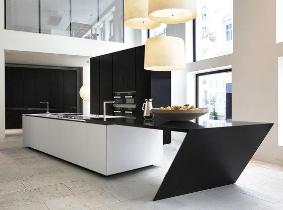 Sharp de Varenna Poliform | Cocinas isla