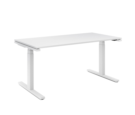 D1 Sitting/standing table di Denz | Scrivanie individuali