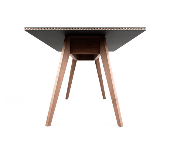 Intarsio | table by strasserthun. | Restaurant tables