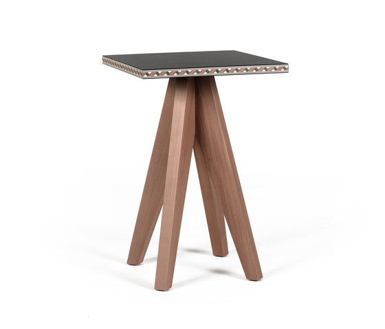 Intarsio Gian & Piero | side table by strasserthun. | Side tables