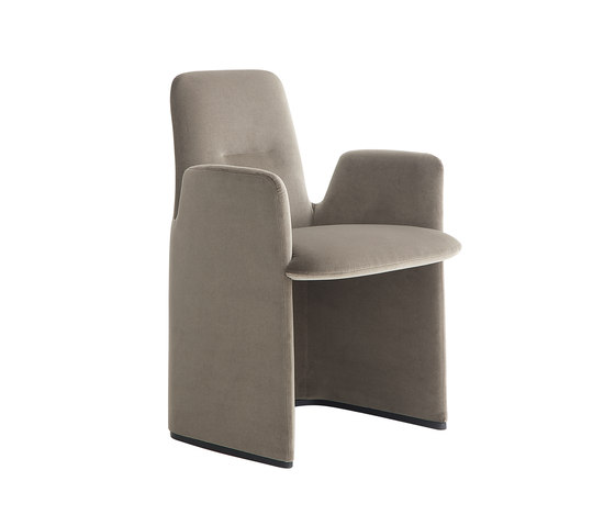 Guest armchair by Poliform | Chairs