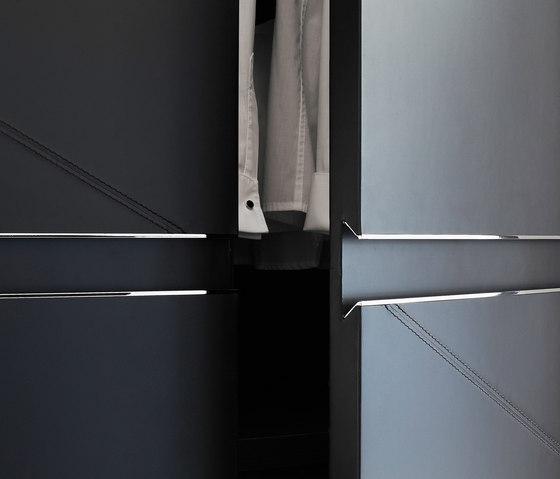 Sharp wardrope by Poliform   Cabinets