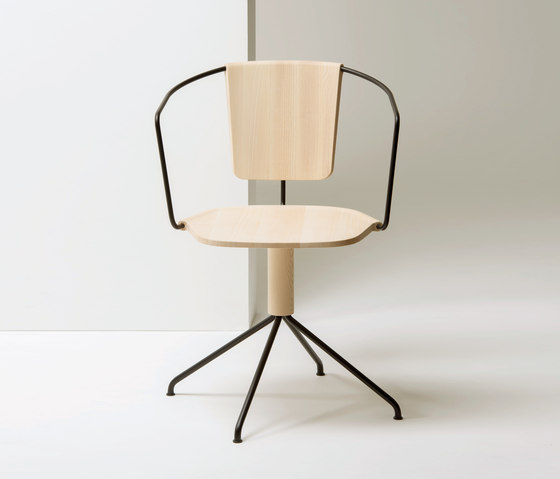 Uncino version B | MC9 by Mattiazzi | Visitors chairs / Side chairs