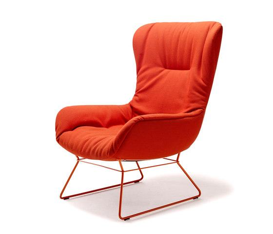 Leya Wingback Chair by Freifrau Sitzmöbelmanufaktur | Lounge chairs