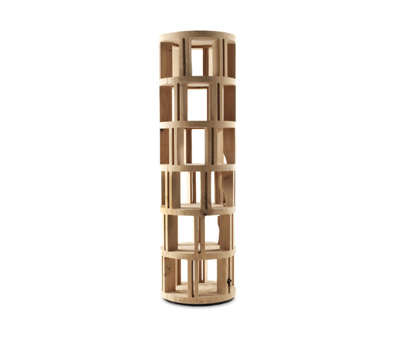 Torre Lignea by Riva 1920 | Magazine shelves