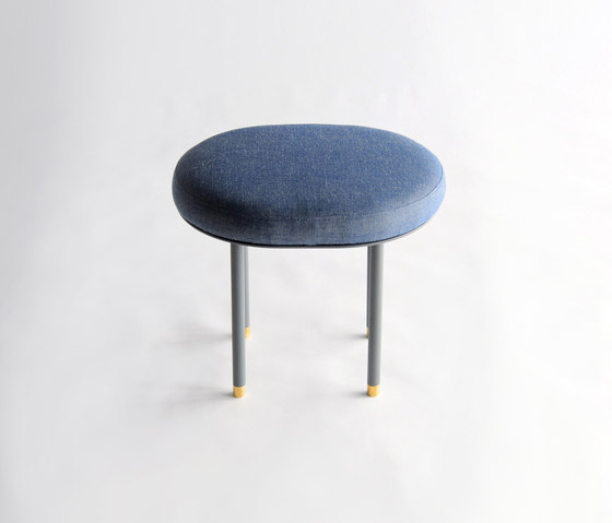Pill Low Stool by Phase Design | Poufs