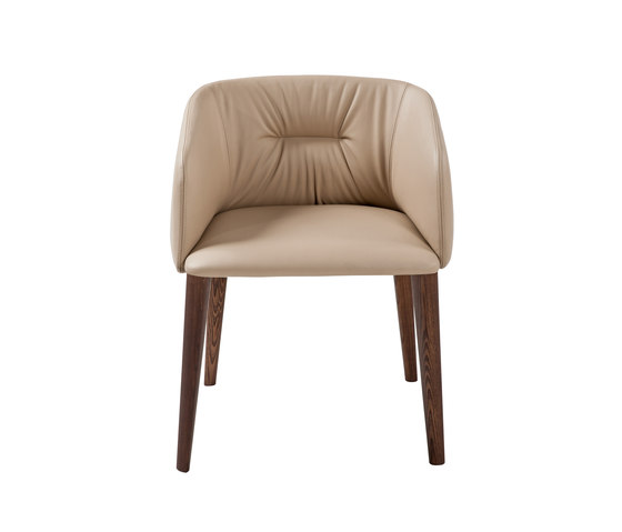 Sofy Monomaterial armchair by Frag | Visitors chairs / Side chairs