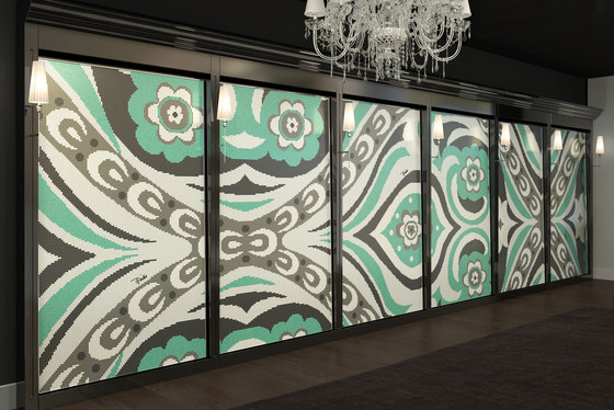 Emilio Pucci Amelie Green by Bisazza | Glass mosaics