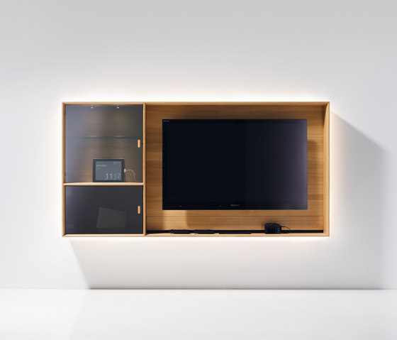 lux TV unit by TEAM 7 | Multimedia sideboards