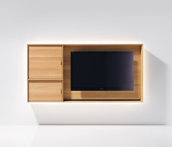 lux TV unit by TEAM 7 | AV cabinets