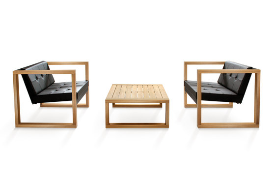 Cima Lounge Poltrona Teak by FueraDentro | Armchairs