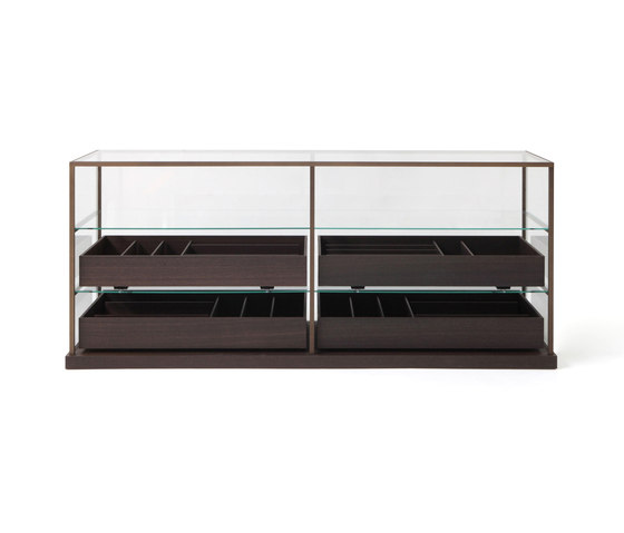 Acquario drawer unit by PORRO | Display cabinets