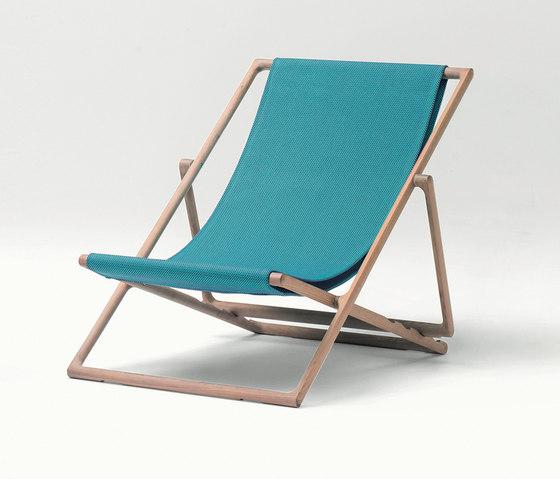 Portofino | Deck Chair di Paola Lenti | Sdraio da giardino