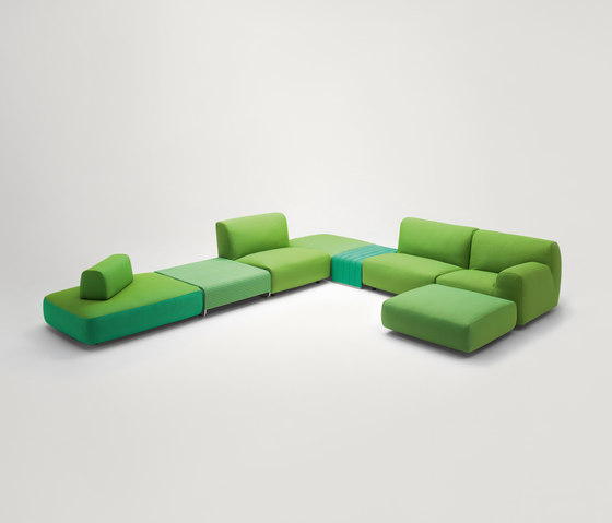 Welcome by Paola Lenti | Lounge sofas
