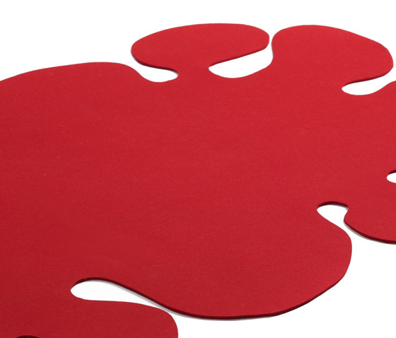 Red Spots by fräch | Rugs / Designer rugs