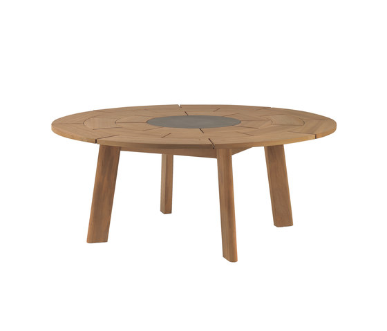 BRICK round table de Roda | Tables à manger de jardin
