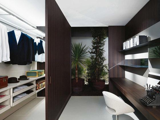 Storage Boiserie by PORRO | Walk-in wardrobes