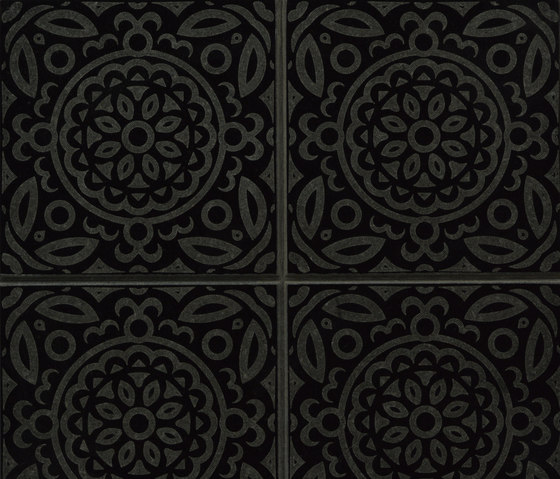 Maiolica Full | Absolute Black by Iqual | Tiles