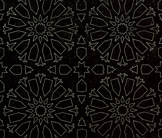 Caleido | Absolute Black by Iqual | Natural stone tiles