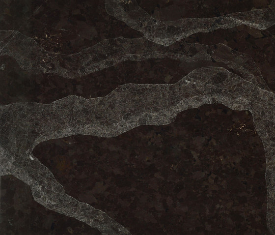 Rami | Brown Antique by Iqual | Natural stone tiles
