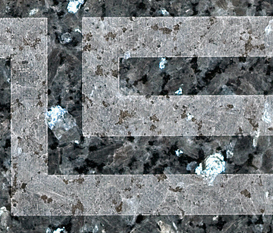 Athens | Blue Pearl by Iqual | Natural stone tiles