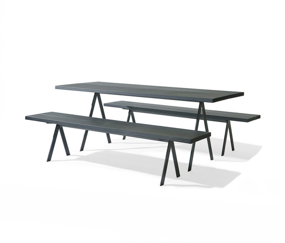 Saw Table and Saw Bench by Friends & Founders | Tables and benches
