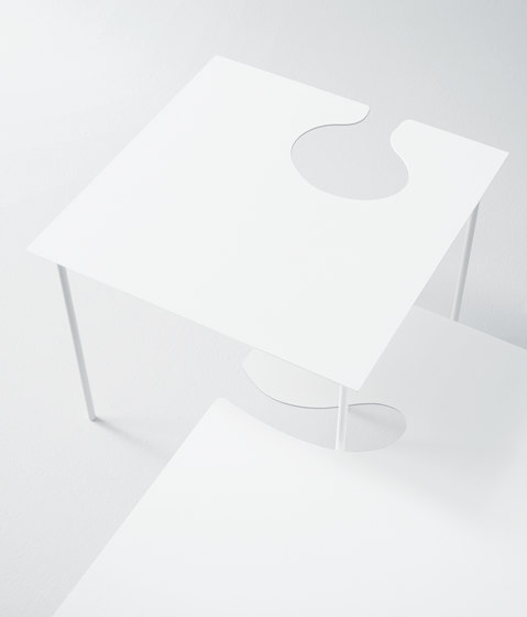 Softer than steel by Desalto | Side tables