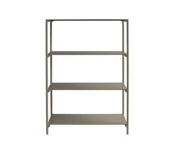 Shelvish aluminium by Friends & Founders | Office shelving systems