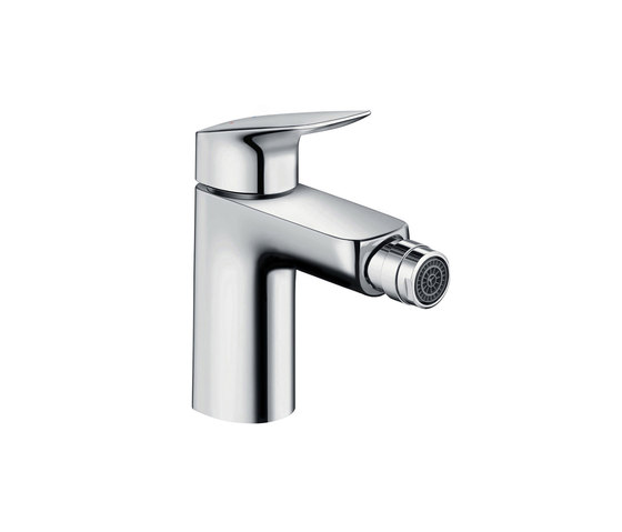 hansgrohe Logis Single lever bidet mixer 100 with pop-up waste set by Hansgrohe | Bidet taps