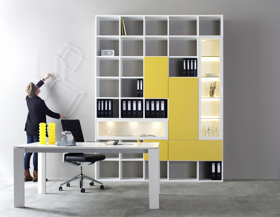 Fokus by Sudbrock | Office shelving systems